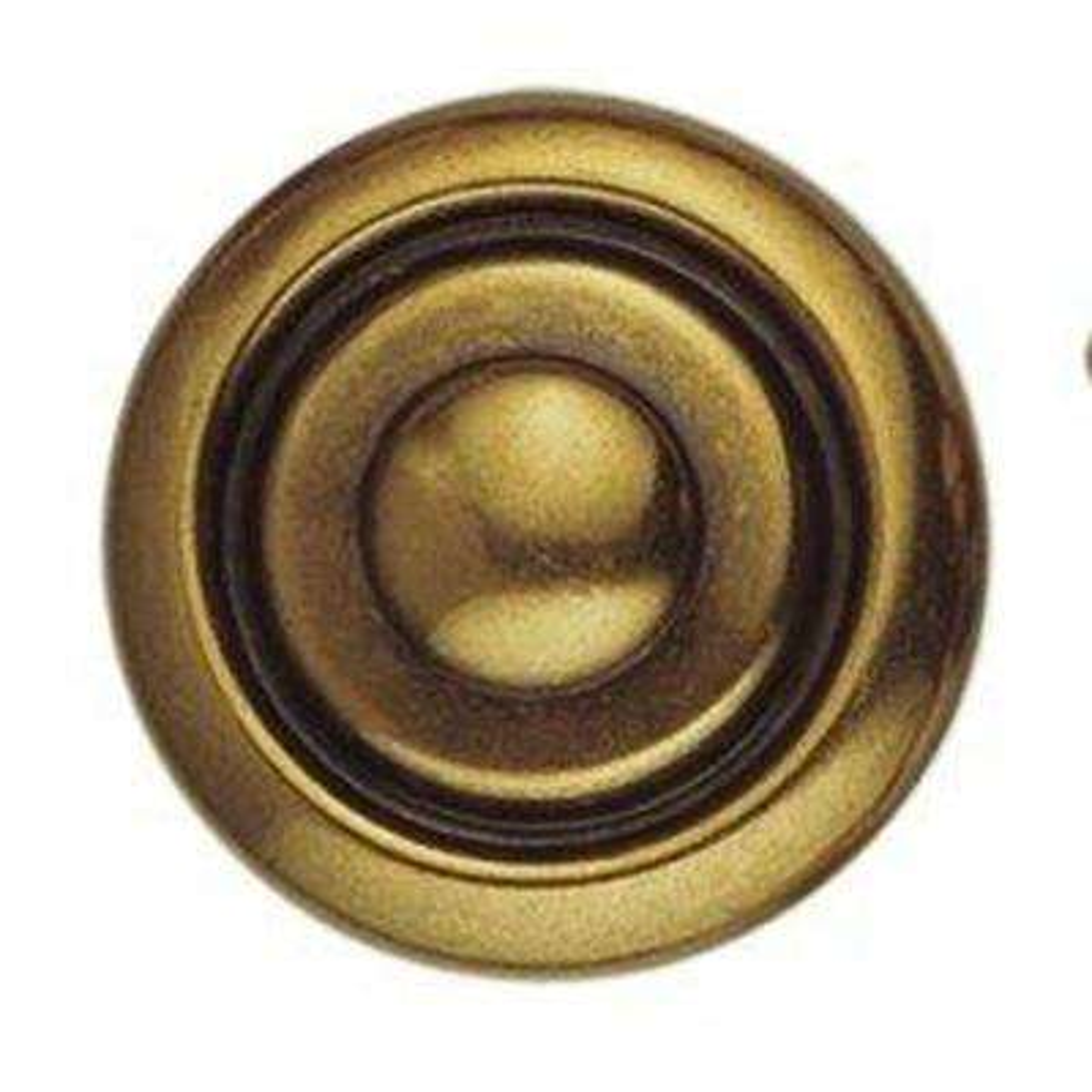 1800 Circa 1.18 in Oil Rubbed Bronze Round Knob