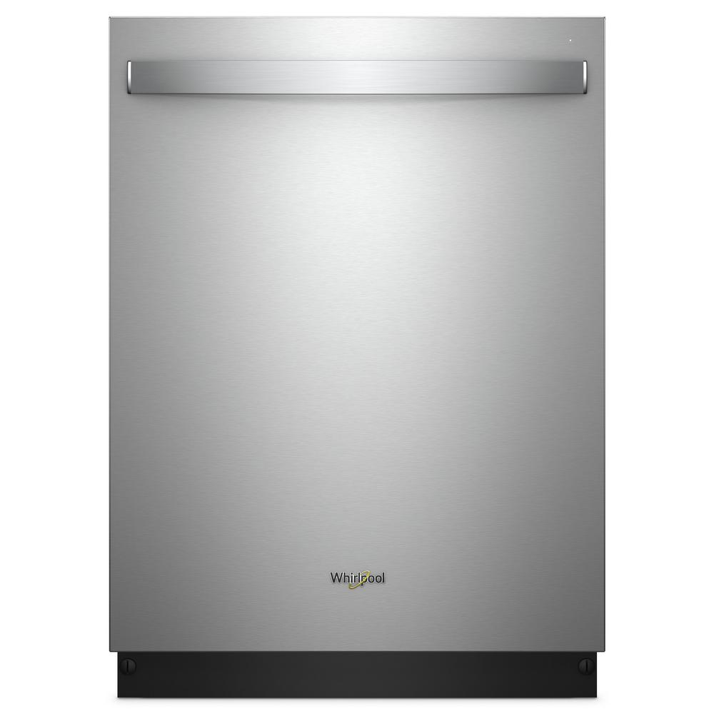Whirlpool Top Control Built-In Tall Tub Dishwasher in Fingerprint Resistant Stainless Steel with Stainless Steel Tub, 47 dBA