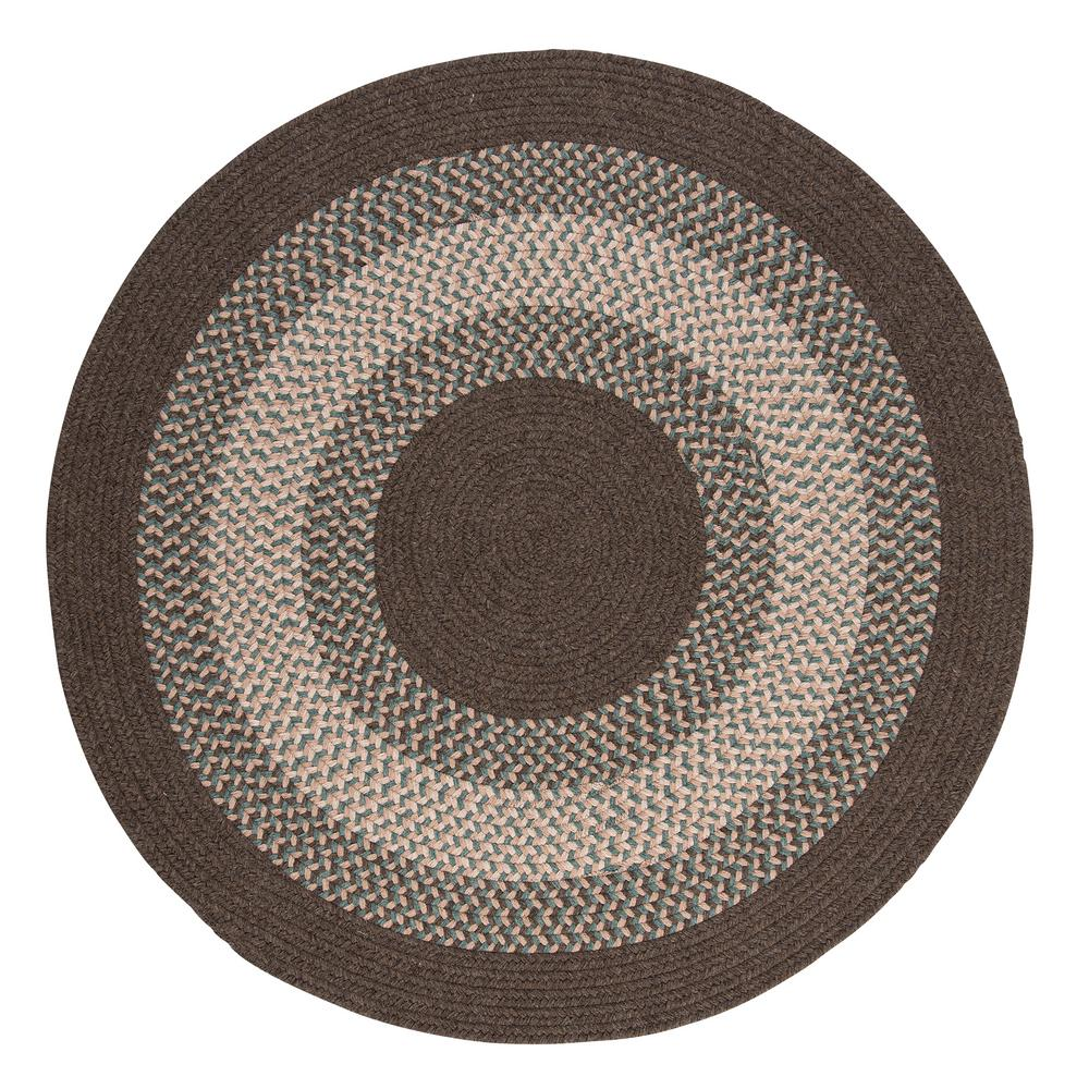 Home Decorators Collection Chancery Bark 8 Ft X Round Braided Area Rug
