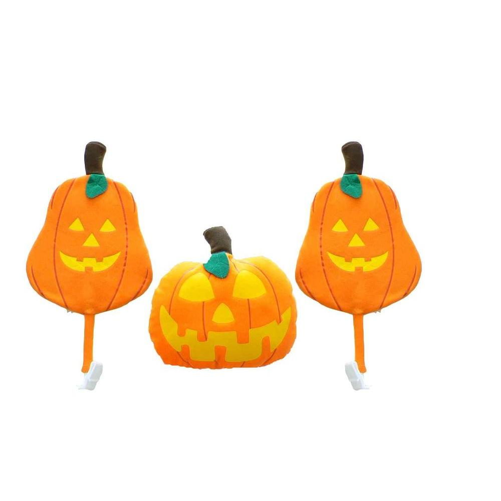 car costume car/truck halloween pumpkin decoration kit (set of 3