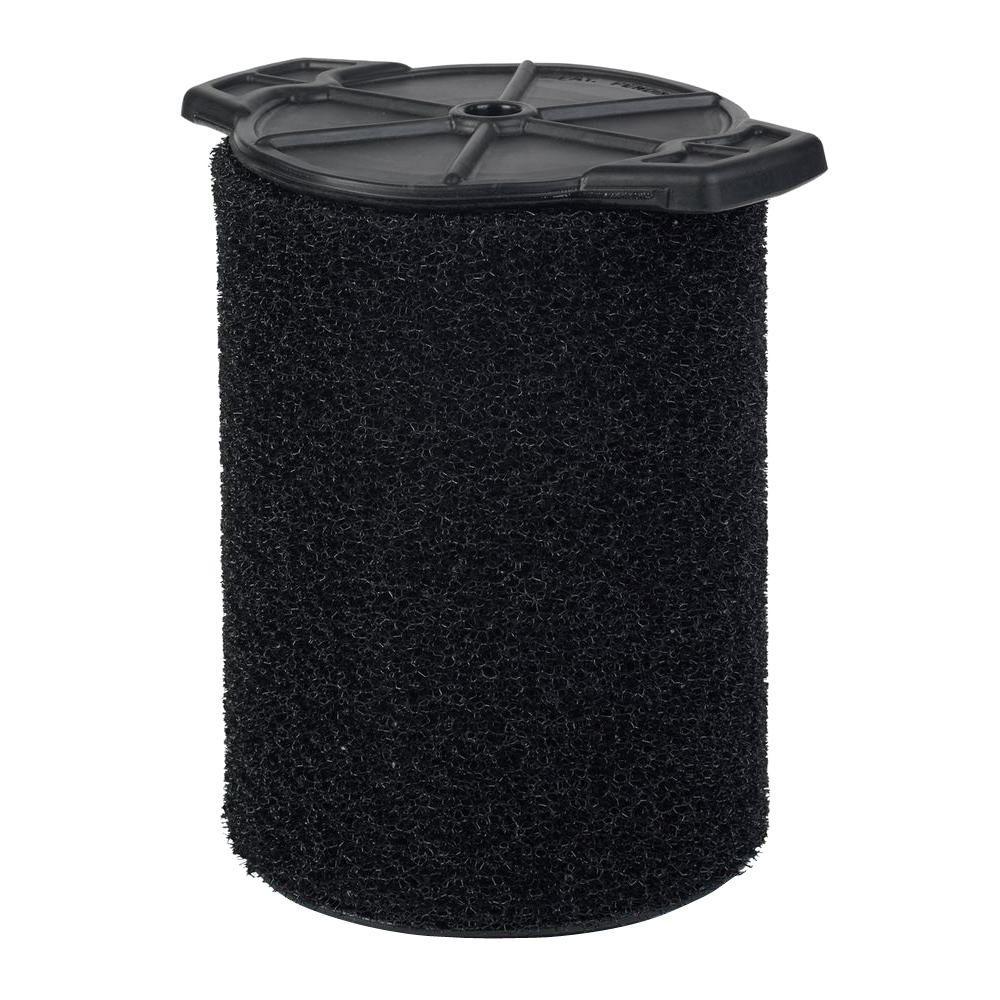 RIDGID Wet Application Foam Filter for 5.0 Plus Gallon Wet/Dry Vacs