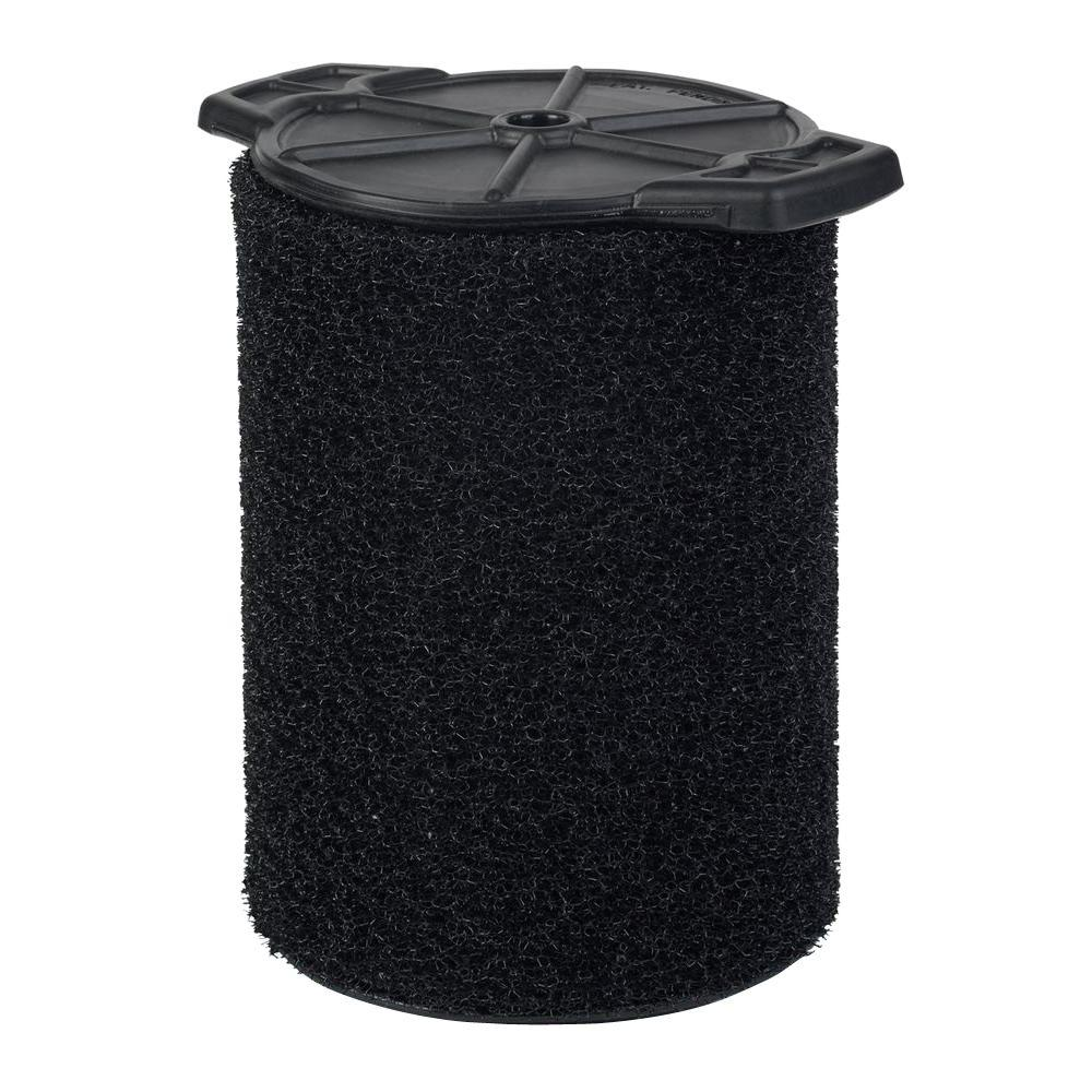 RIDGID Wet Application Foam Filter for Most 5 Gal. and Larger RIDGID Wet/Dry Shop Vacuums