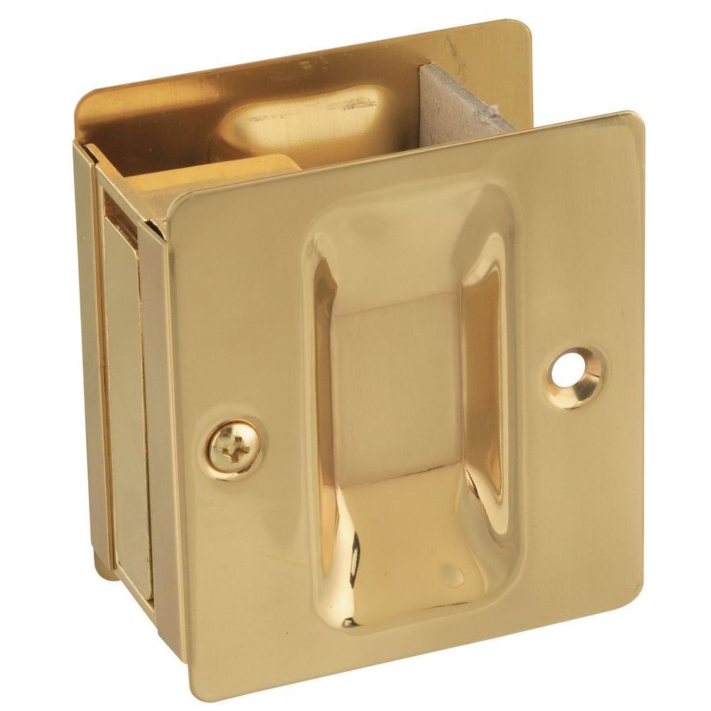 Solid Brass Pocket Door Pull