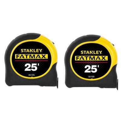 25 ft. FATMAX Tape Measure (2-Pack)