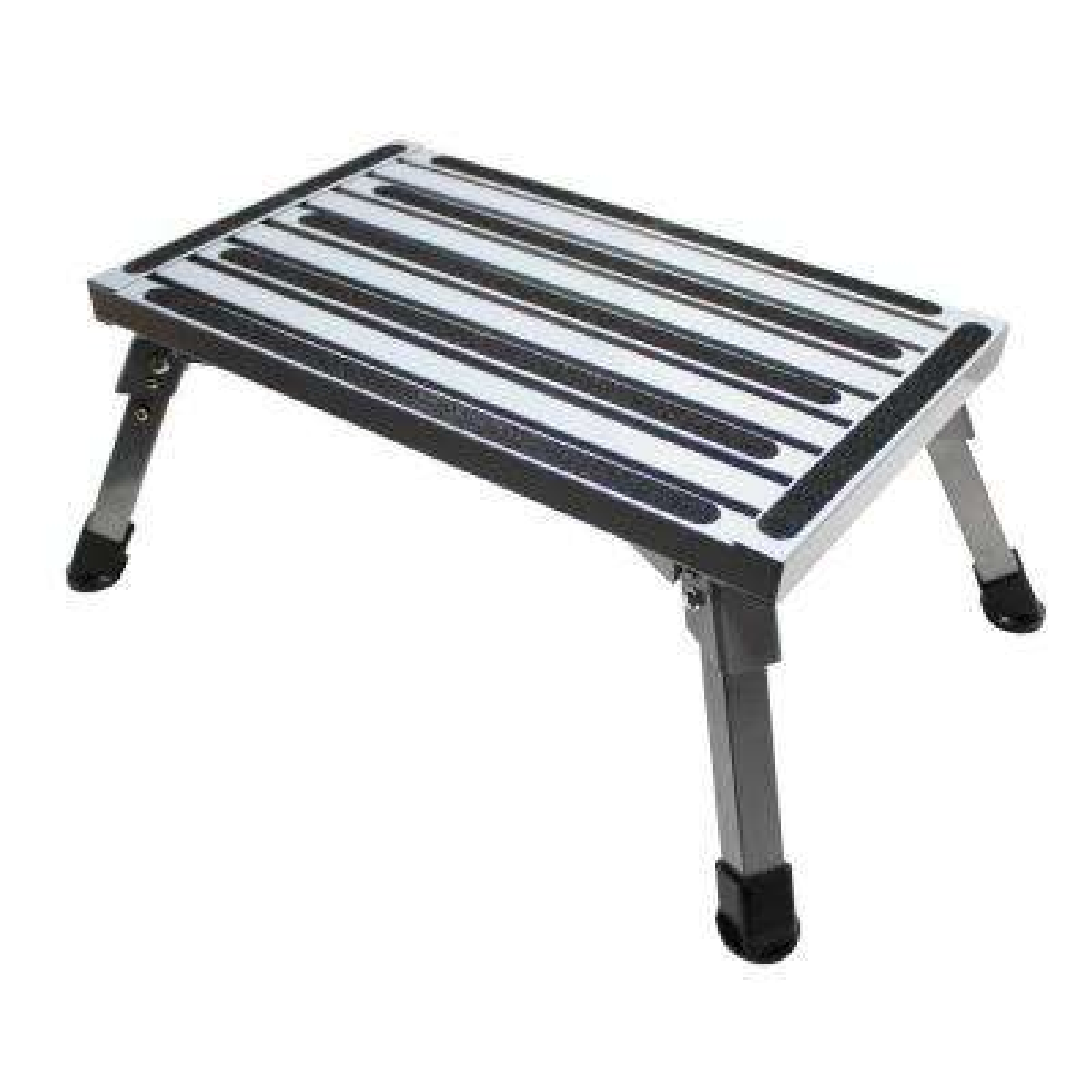 Folding Aluminum Platform Step