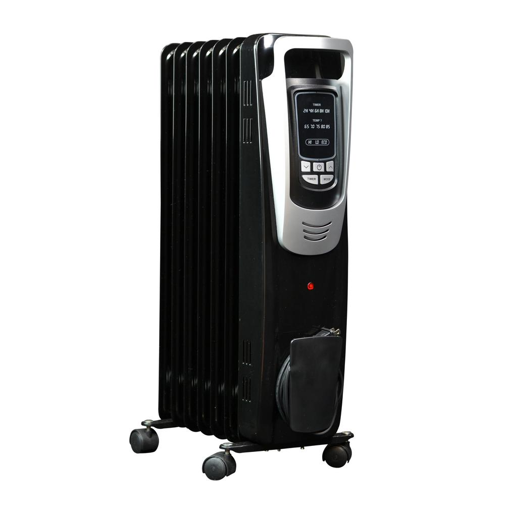 NewAir 1500-Watt Electric Oil-filled Radiant Portable Heater-AH ...
