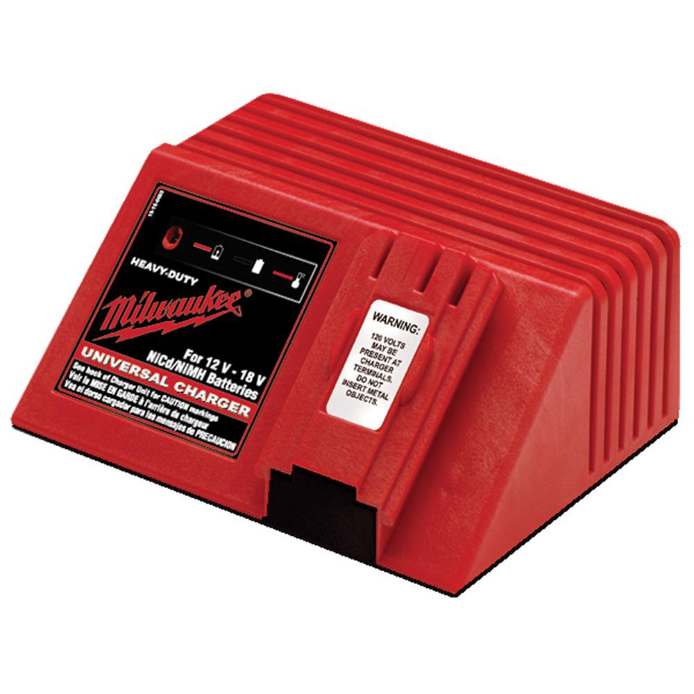 Milwaukee Multi-Voltage Universal 12-Volt, 14.4-Volt and 18-Volt NiCd 1 Hour Battery Charger