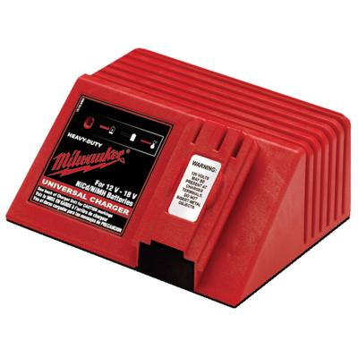 Multi-Voltage Universal 12-Volt, 14.4-Volt and 18-Volt NiCd 1 Hour Battery Charger