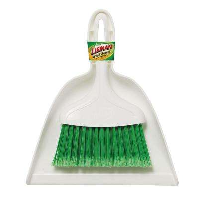 Dust Pan with Whisk Broom