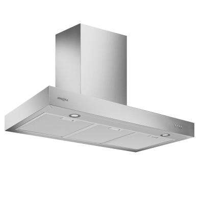 Forza 36 LED 36 in. Convertible Wall Mount Range Hood with LED in Stainless Steel
