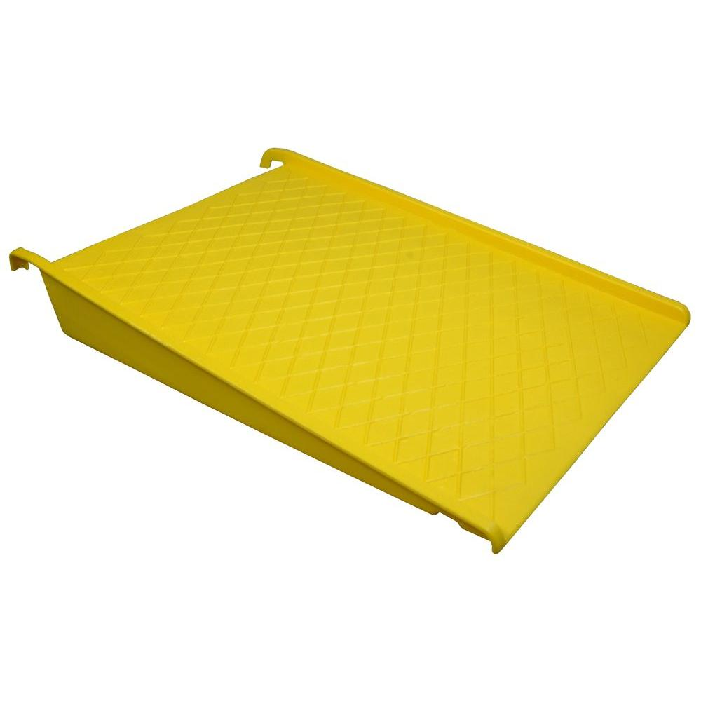 Homak 1500 lb. Load Capacity Spill Containment Pallet Ramp