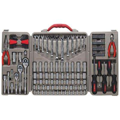 1/4 in. 3/8 in. and 1/2 in. Drive Mechanics Tool Set (148-Piece)