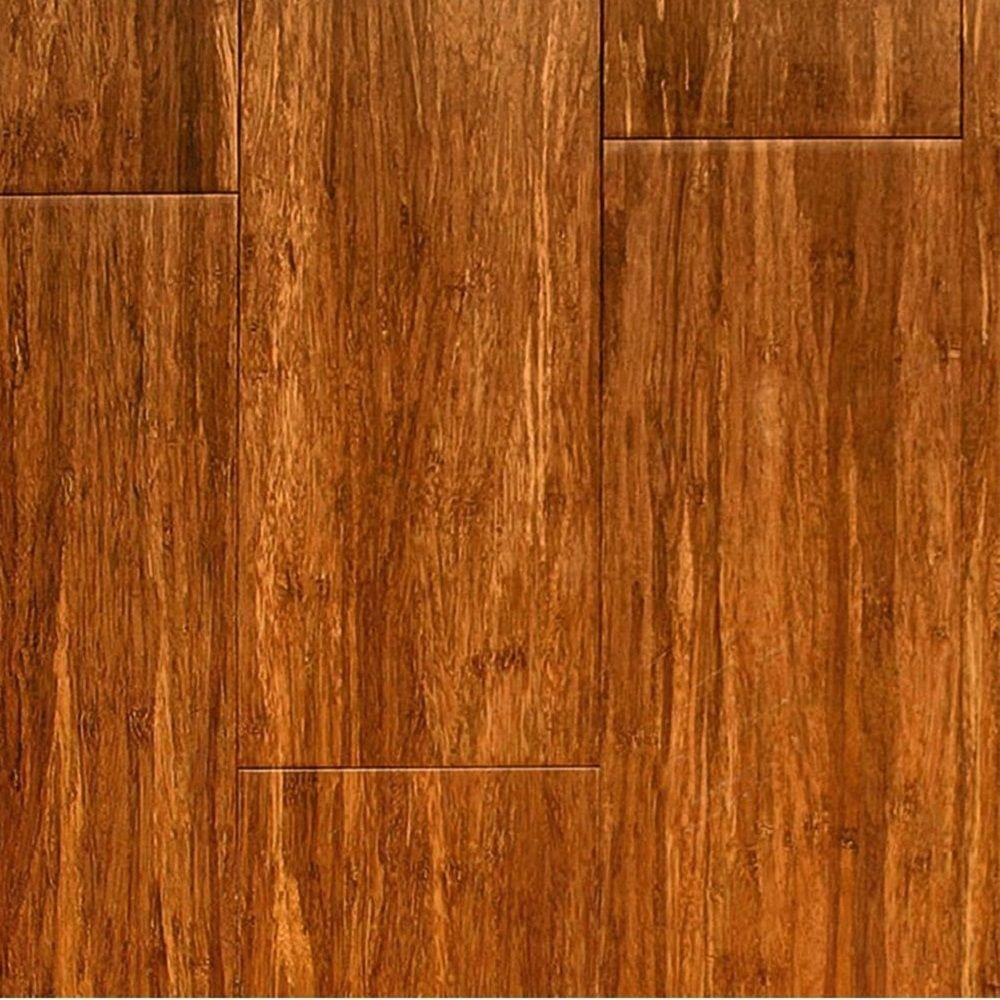 null Take Home Sample - Carbonized Solid Strand Bamboo Flooring - 5 in. x 7 in.