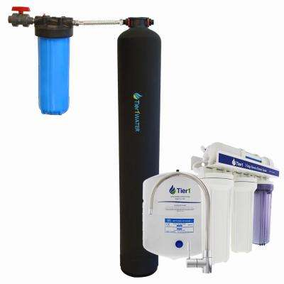 10,000 Whole House Carbon and KDF System with 5-Stage Reverse Osmosis System