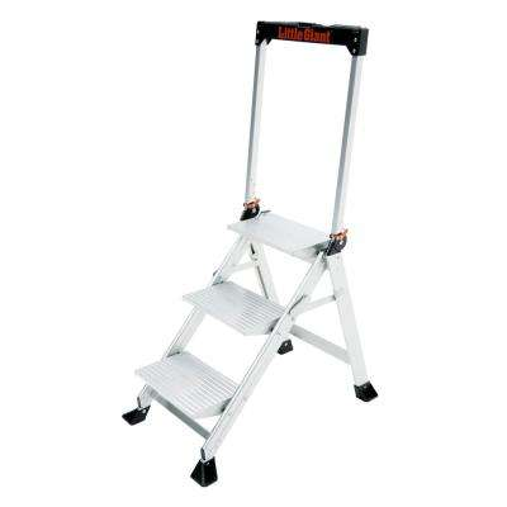 3-Step Aluminum Jumbo Stepstool