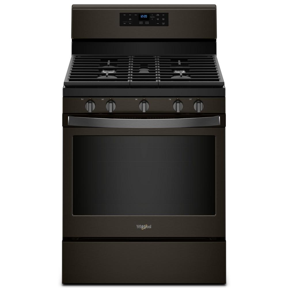 Whirlpool 30 in. 5.0 cu. ft. Gas Range with Self-Cleaning...