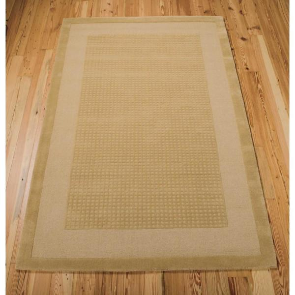 Reviews For Nourison Simply Elegant Sand 5 Ft X 8 Ft Solid Contemporary Area Rug 723482 The Home Depot