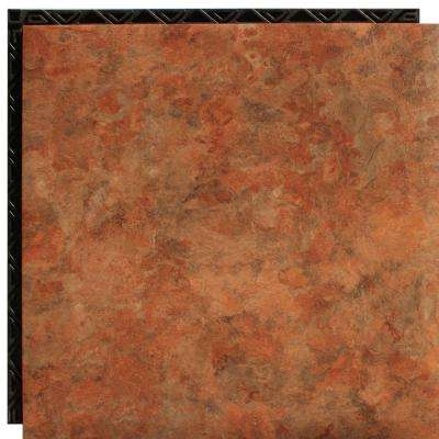 Canyon Sand 18.5 in. x 18.5 in. Interlocking Waterproof Vinyl Tile with Built-in Underlayment (19.04 sq. ft. / case)