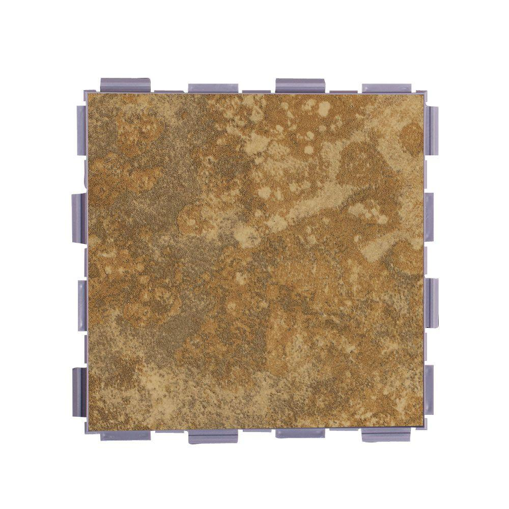 Camel 6 in. x 6 in. Porcelain Floor Tile (3 sq.