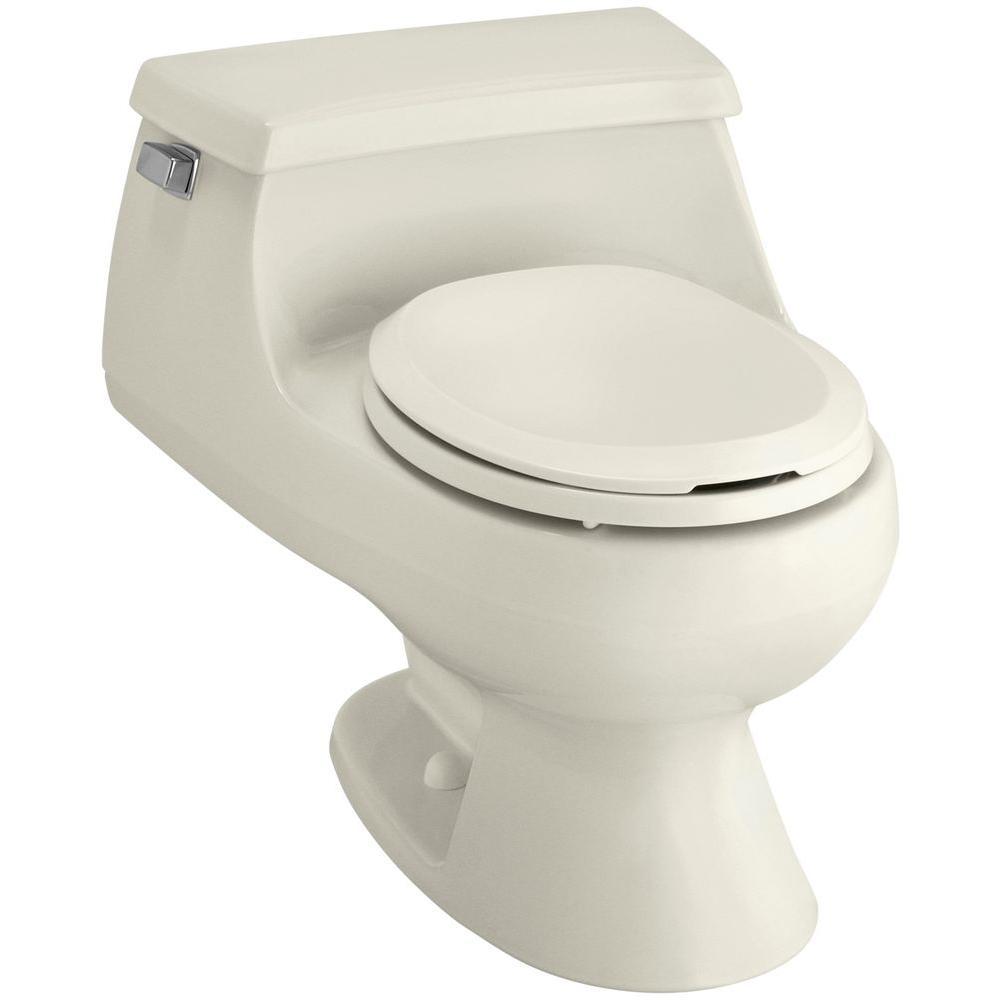 Kohler Rialto 1 Piece 1 6 Gpf Single Flush Round Toilet In