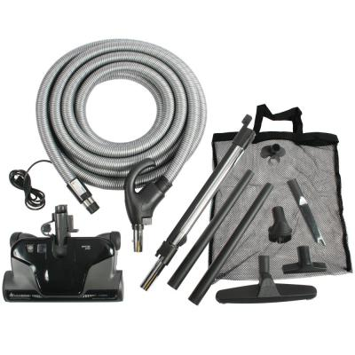 CT16QD Electric Powerhead Attachment Kit with Pigtail Hose for Central Vacuums