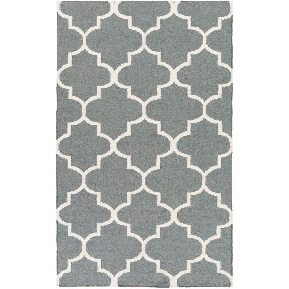 Artistic Weavers York Mallory Gray 5 ft. x 8 ft. Indoor Area Rug