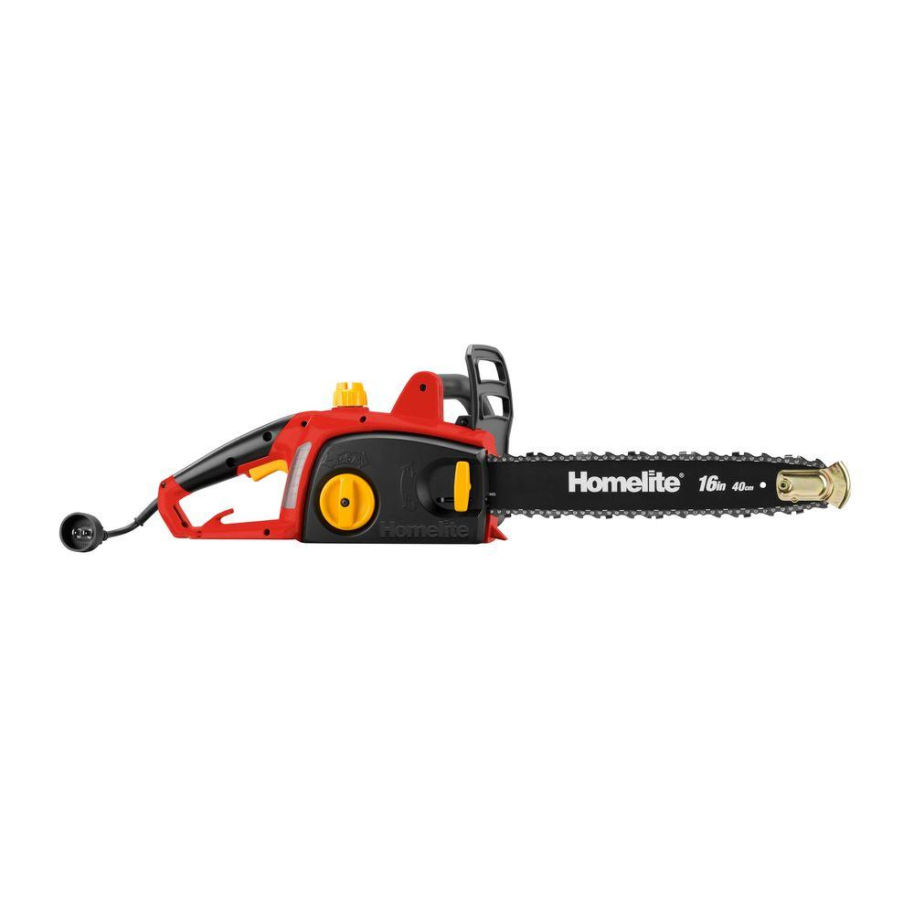 Homelite reconditioned 16 in 12 amp electric chainsaw zr43120 12 amp electric chainsaw zr43120 the home depot greentooth Choice Image
