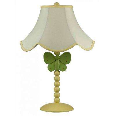 Cooper 20 in. Green Butterfly Novelty Lamp
