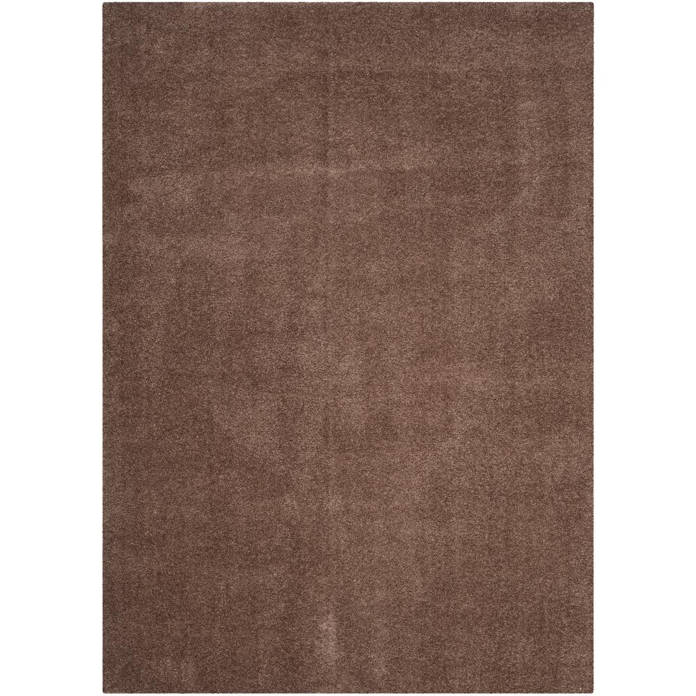 Safavieh Velvet Shag Dark Beige 5 Ft X 8 Area Rug
