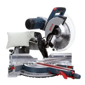 Bosch 15 Amp Corded 12 inch Dual-Bevel Glide Miter Saw with 60-Tooth Blade by Bosch