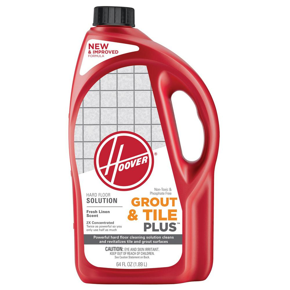 Hoover 64 oz 2x grout and tile plus hard floor cleaning solution hoover 64 oz 2x grout and tile plus hard floor cleaning solution dailygadgetfo Images