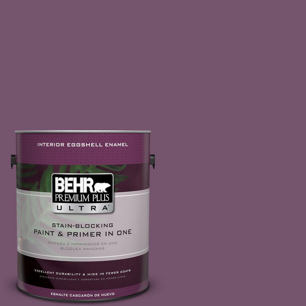 BEHR Premium Plus Ultra 1-gal. #PMD-87 Exotic Orchid Eggshell Enamel Interior Paint