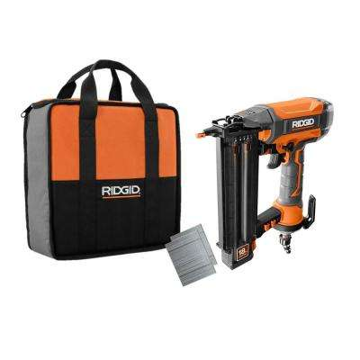 18-Gauge 2-1/8 in. Brad Nailer with Clean Drive Technology Includes Tool Bag and (200) 2 in. Nails