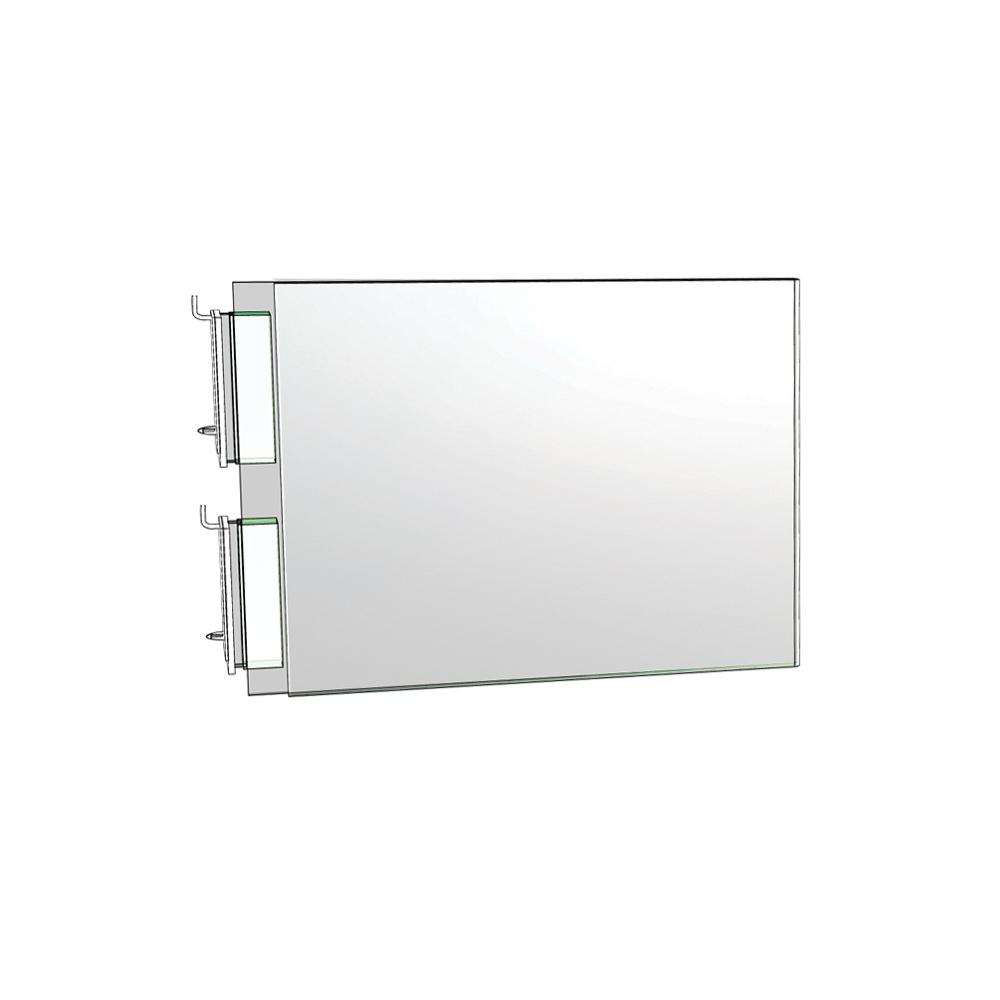 5 in. W x 7 in. H 2-Sided Acrylic Sign Holder