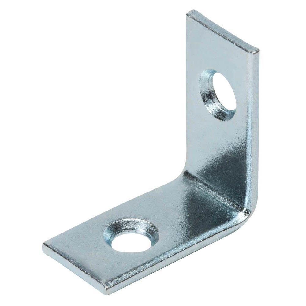 1 in. Steel Zinc-Plated Corner Brace (4-Pack)