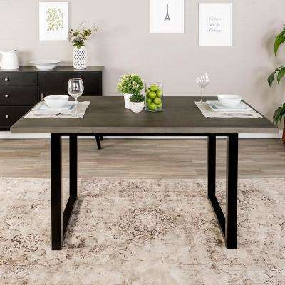 Aged Grey 60 in. Madison Wood Dining Table