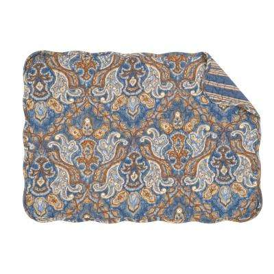 Blue Harper Quilted Placemat (Set of 6)