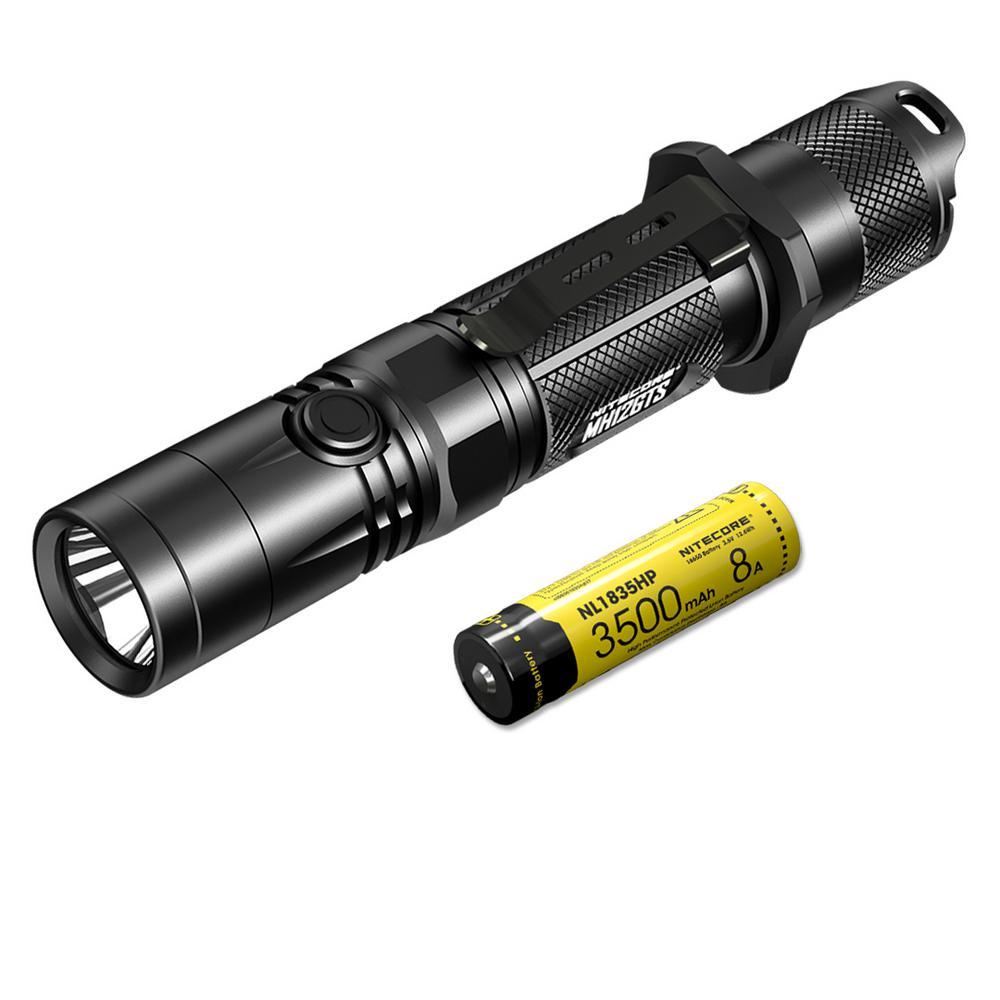 1800 Lumens Rechargeable LED Flashlight