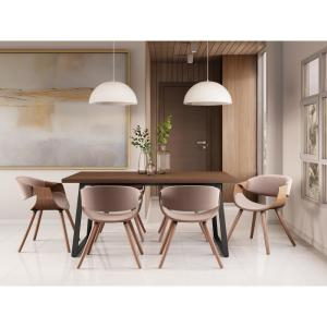 Strange Simpli Home Wayland 7 Pc Dining Set With 6 Upholstered Gmtry Best Dining Table And Chair Ideas Images Gmtryco