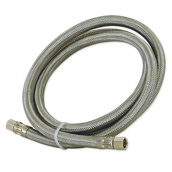 20 ft. Braided Stainless Steel Ice Maker Connector