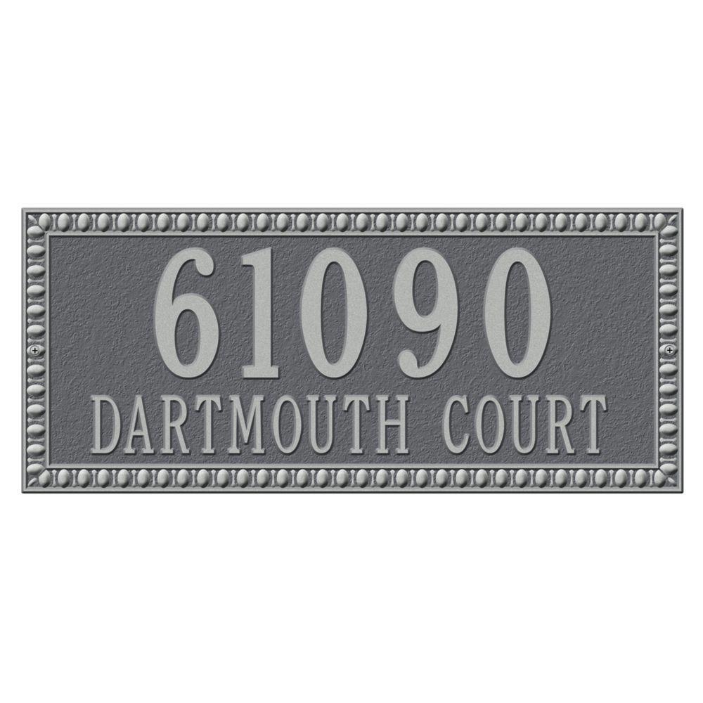 address plaques address signs the home depot. Black Bedroom Furniture Sets. Home Design Ideas