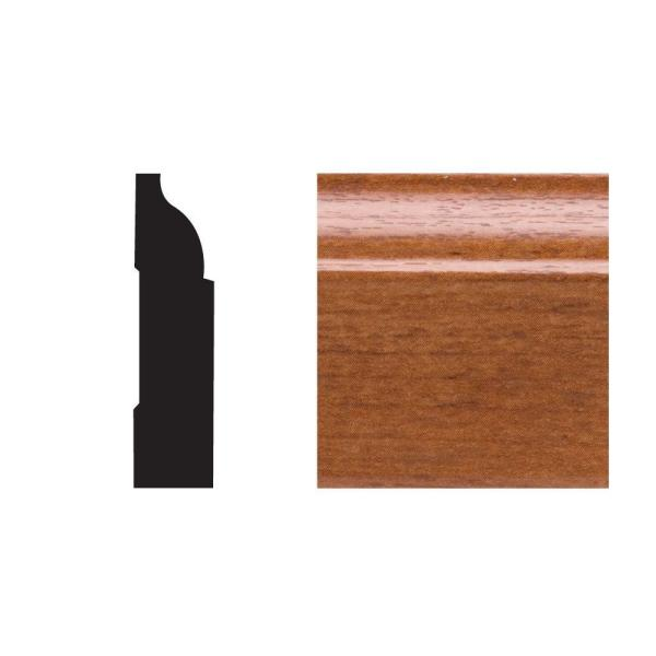 5947 3/8 in. x 1-1/4 in. x 7 ft. PVC Composite Colonial Stop Gunstock Moulding