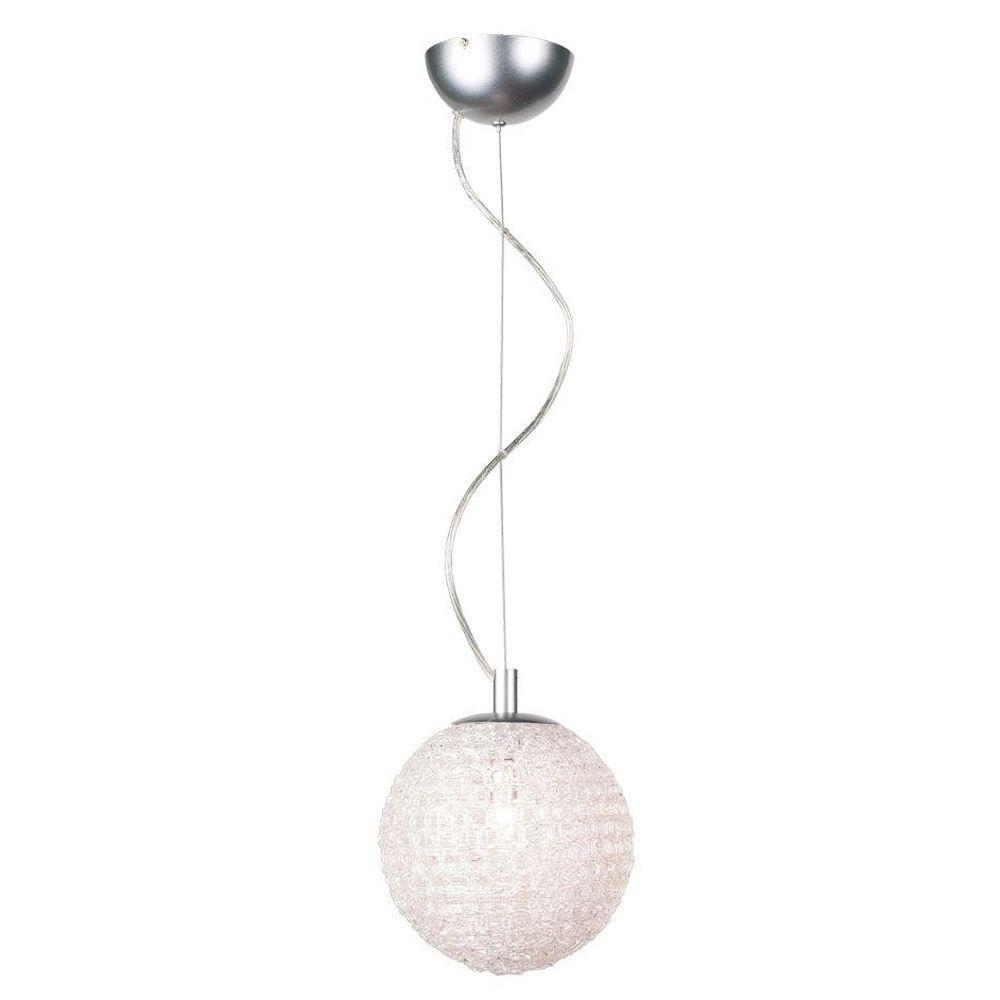 Eurofase Melody Collection 3-Light Chrome Hanging Large Pendant