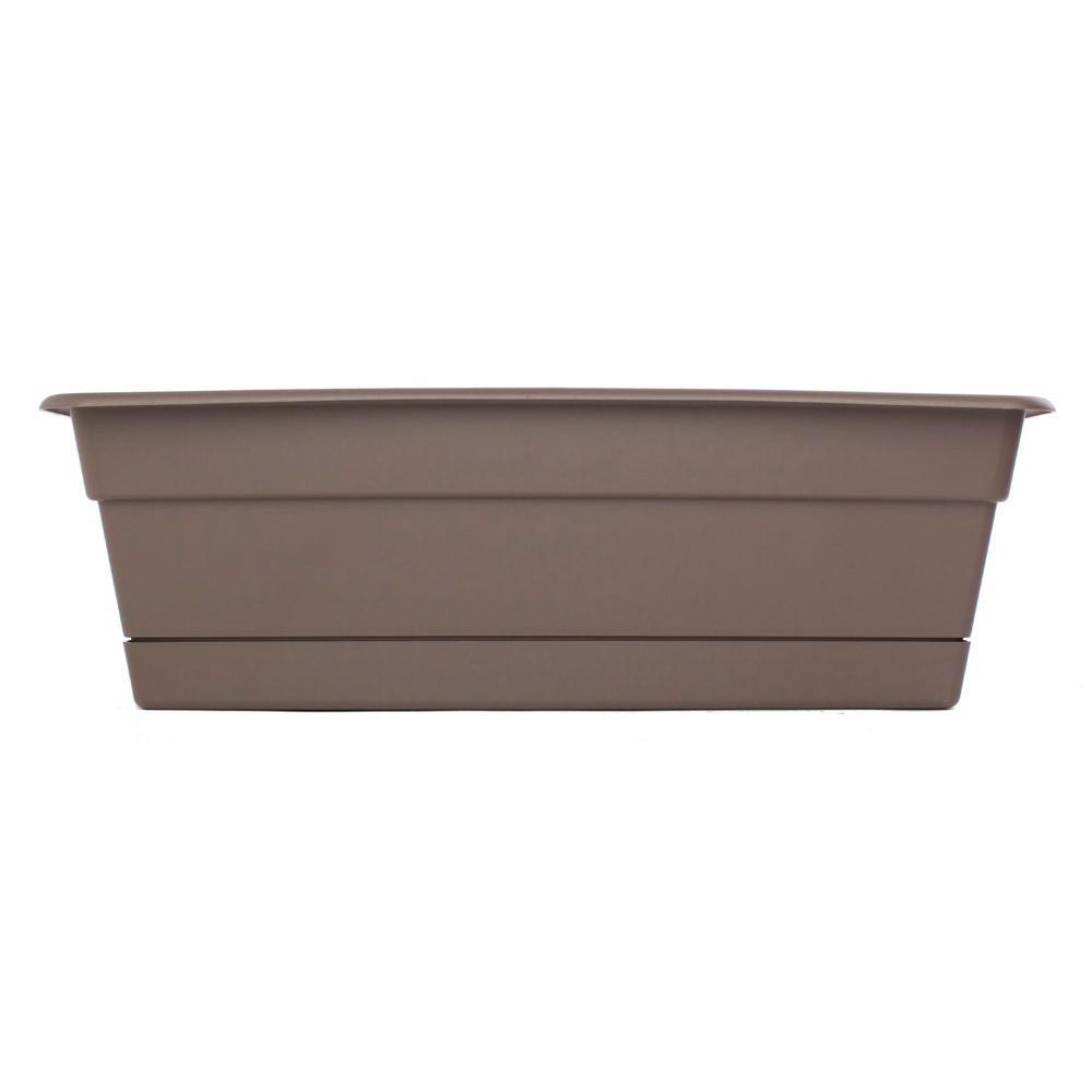 Bloem 24 in. Curated Dura Cotta Plastic Window Box