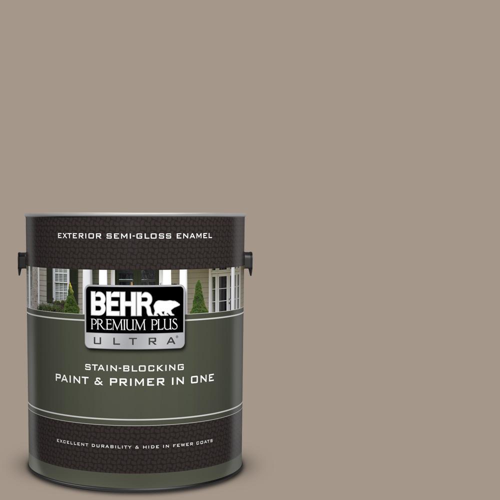 Behr Premium Plus Ultra 1 Gal Ul140 7 Studio Taupe Semi