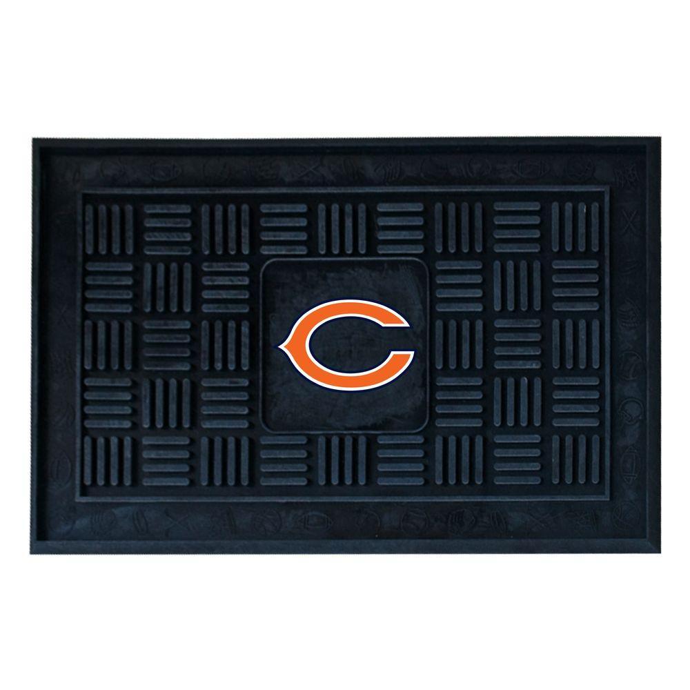 FANMATS Chicago Bears 18 in. x 30 in. Door Mat