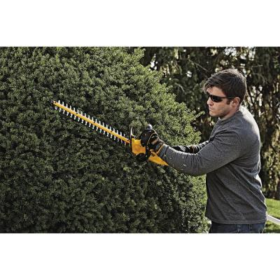 20-Volt Lithium Ion Electric Cordless 13 in. Brushless Dual Line String Grass Trimmer Bonus Bare Hedge Trimmer & Blower