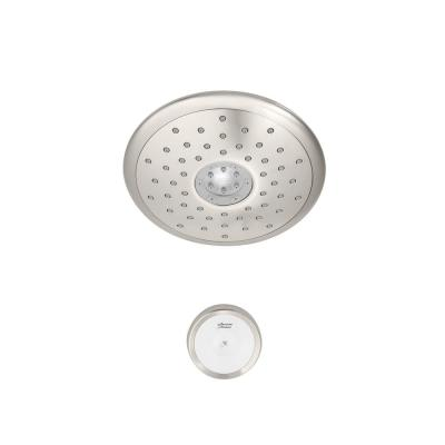 Spectra+ 4-Spray 7 in. Single Wall Mount Fixed Adjustable Shower Head in Polished Nickel