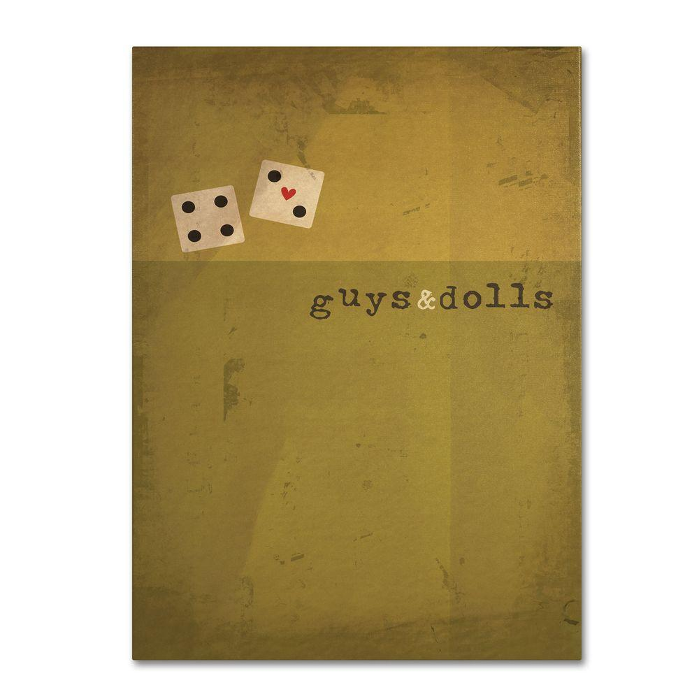 22 in. x 32 in. Guys and Dolls Canvas Art-MR0013-C2232GG - The Home ...