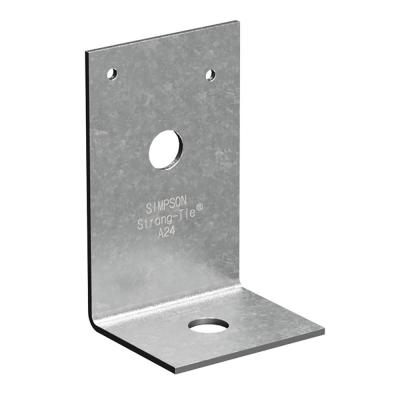 2 in. x 3-7/8 in. x 2-1/2 in. Galvanized Angle